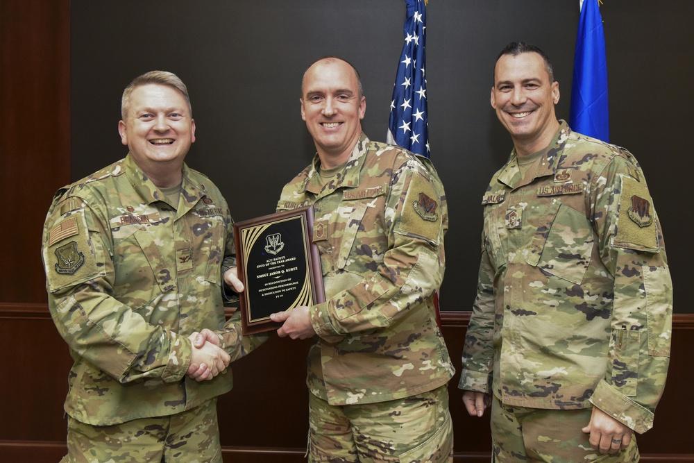 480th ISRW SNCO wins ACC safety award