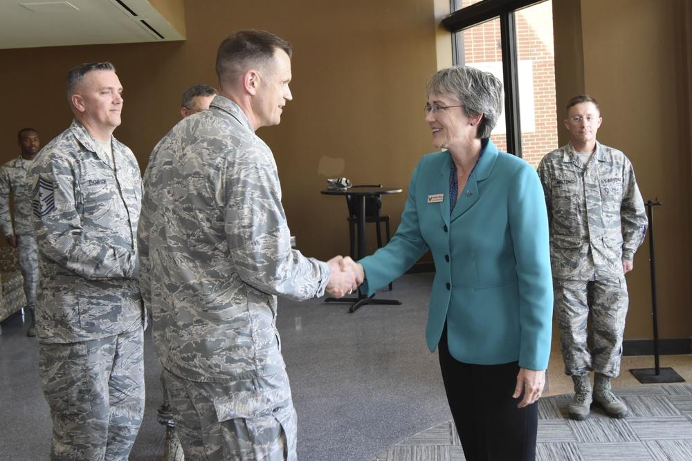 SECAF visits ISR Airmen in Virginia