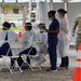 Florida Guardsmen support the opening of two new walk-up testing sites in South Florida