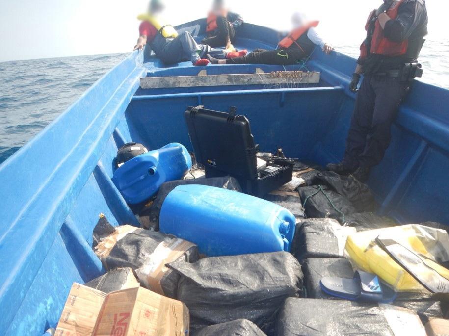 Coast Guard Cutter Active Offload