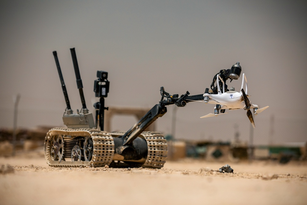 Counter Unmanned Aerial System Training Exercise at Al Asad Air Base