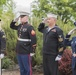 Idaho honors Memorial Day with annual re-dedication and memorial brick ceremony