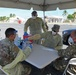 COVID-19 rapid testing at Muñiz Air National Guard Base