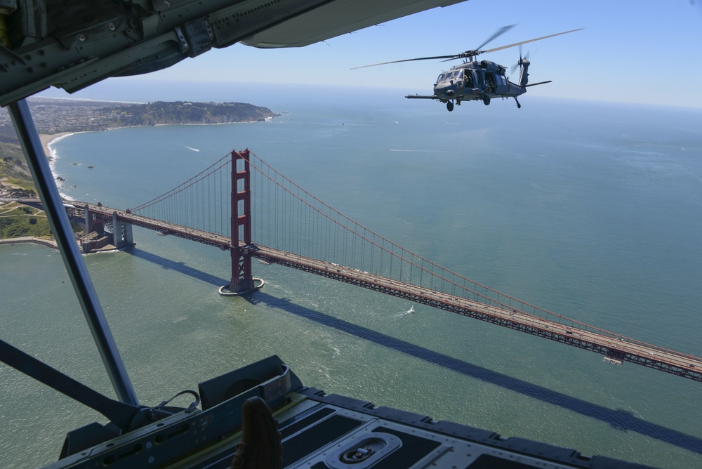Bay Area Guard Unit Flyover to Honor Front-line COVID-19 Workers