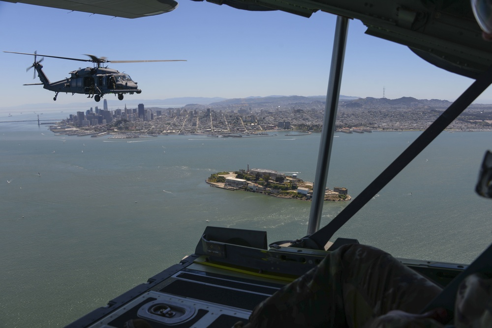 Bay Area Guard Unit Flyover to Honor FrontlineCOVID-19 Workers