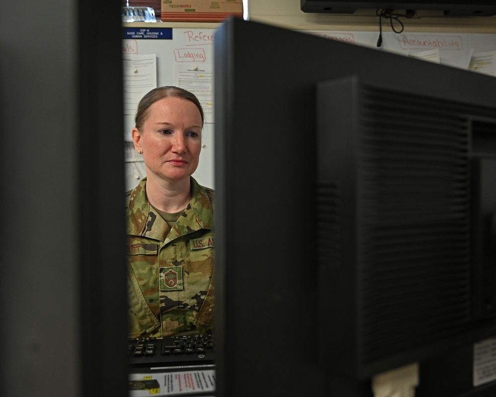 Mission Support Group plays pivotal role in wing's response to COVID-19