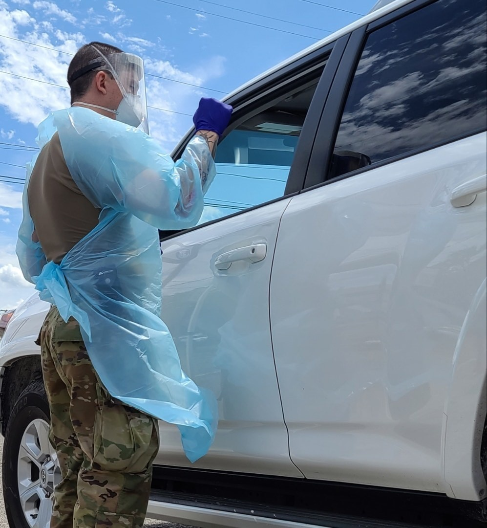 Michigan National Guard supports Successful Free COVID-19 Testing for Muskegon Heights Residents