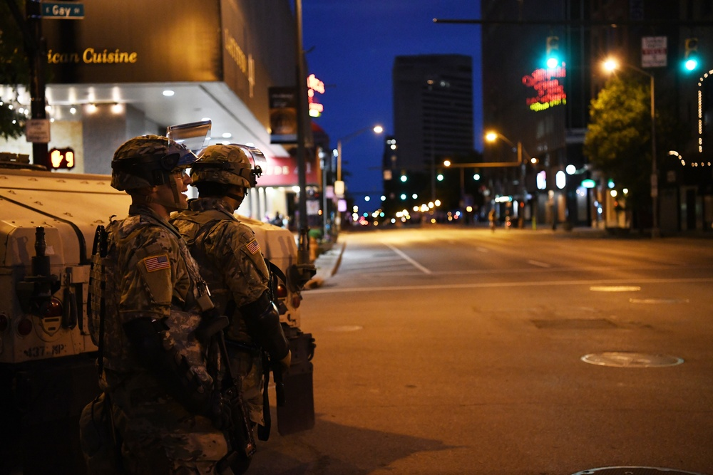 Shielding the community: Guard members provide critical support during protests