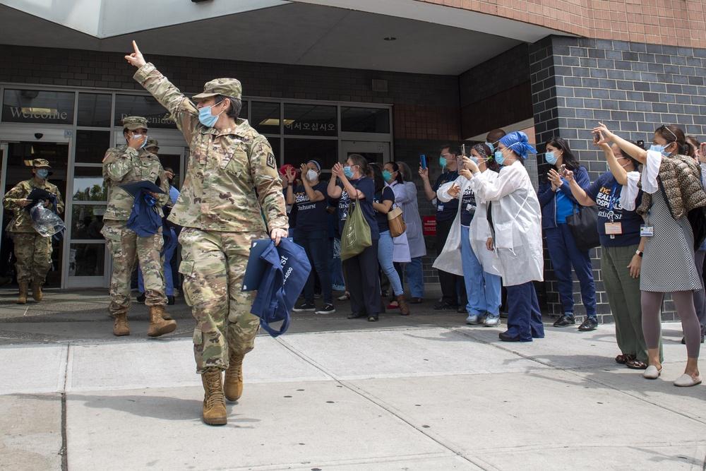 Elmhurst Medical Center Farewell Ceremony