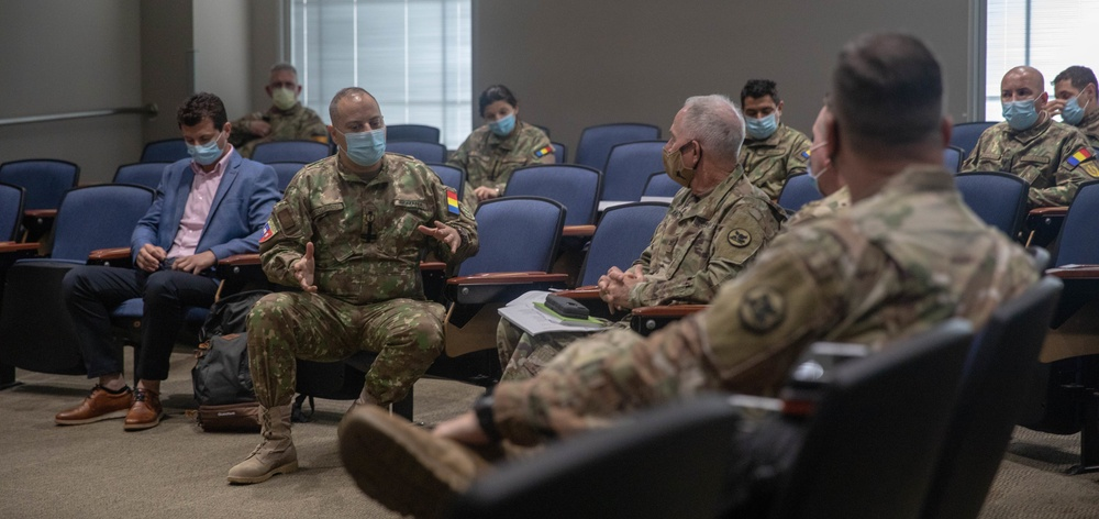 Romanian Medical Delegation meets with officials in Mobile