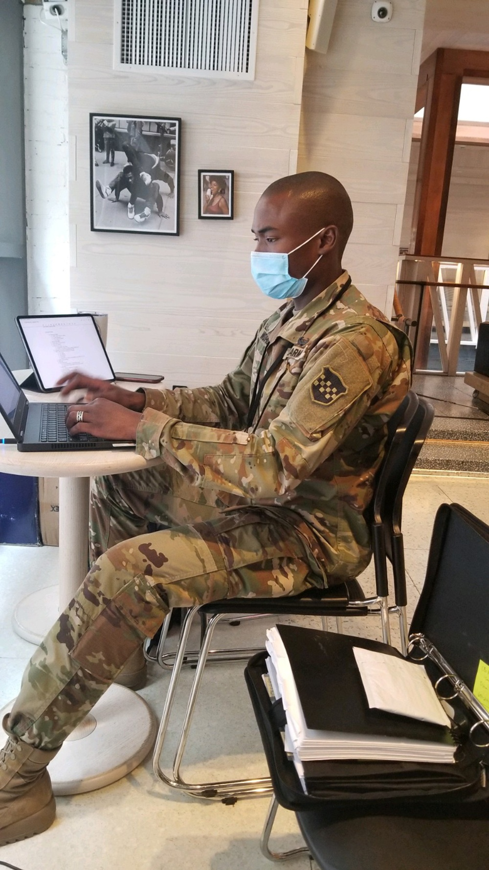 U.S. Army history detachments collect history during COVID-19 Operations