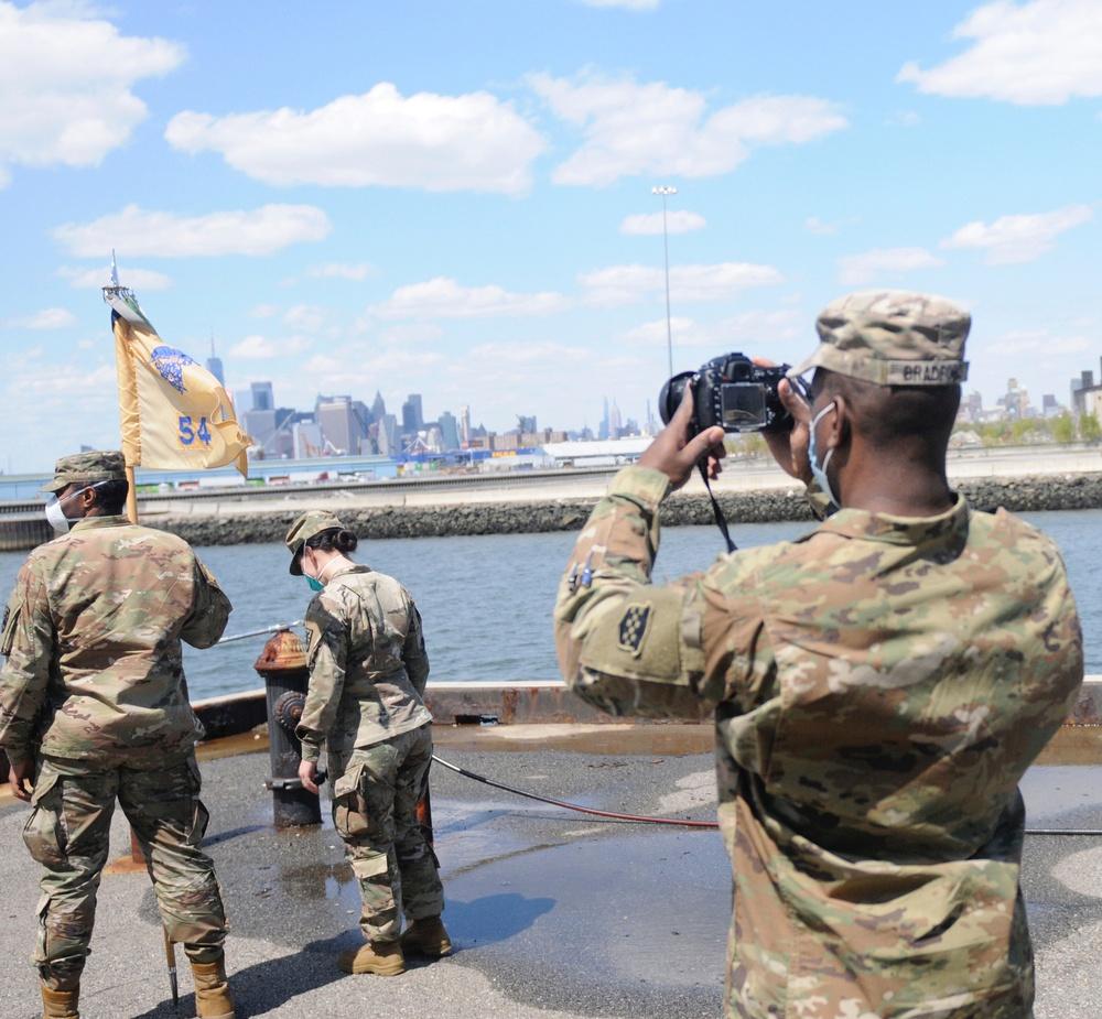Documenting COVID-19 operations in Brooklyn