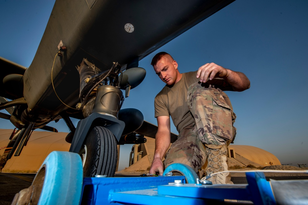 386th EAMXS: providing theatre support with MQ-9 Reapers