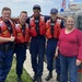 Coast Guard rescues 2 people, 1 cat from sinking houseboat