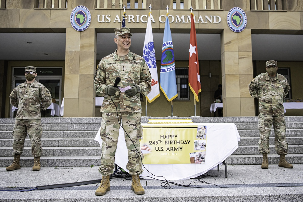 Army birthday commemoration honors past and future service
