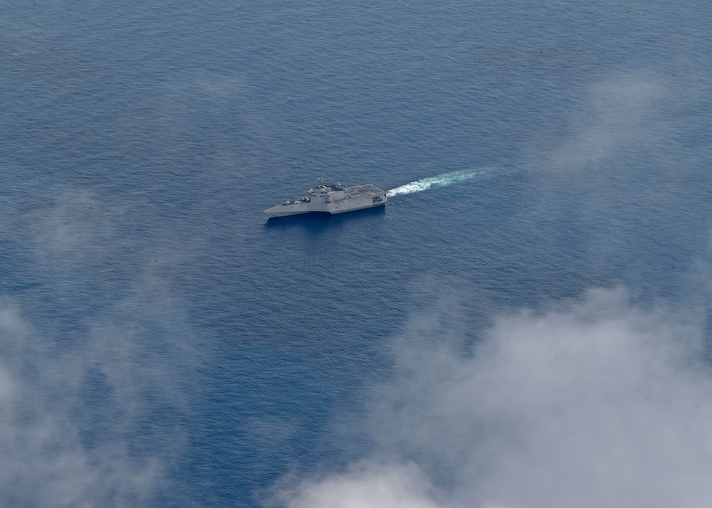 USS Gabrielle Giffords at Sea