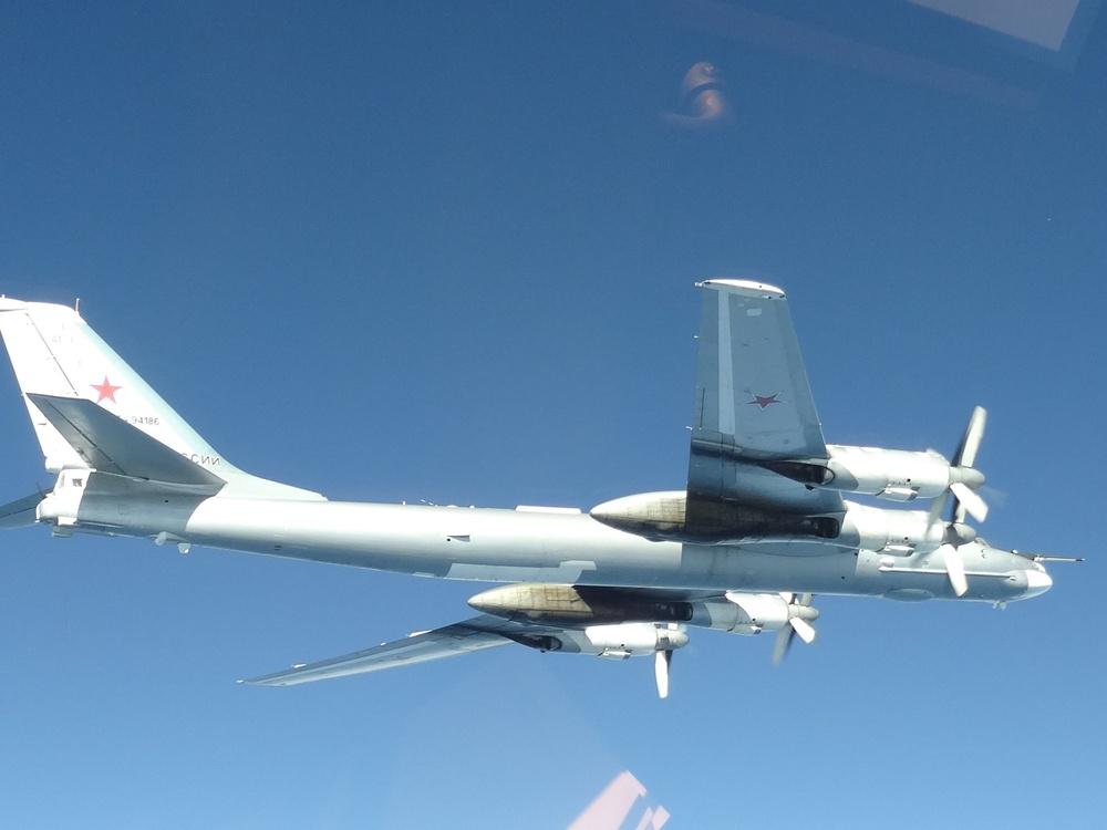 NORAD intercepts two Russian bomber formations entering Alaskan Air Defense Identification Zone