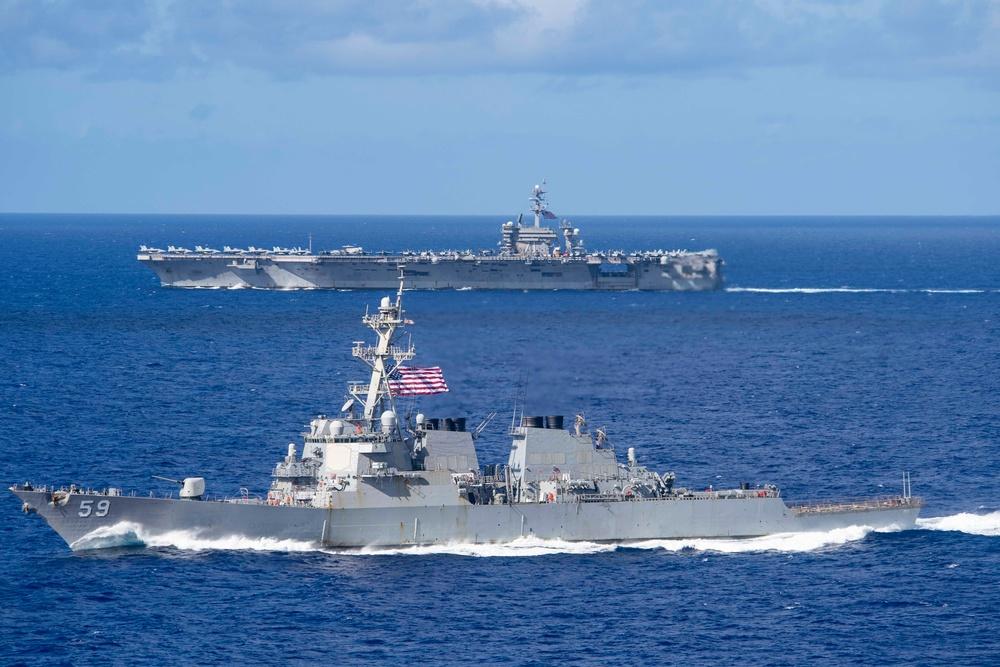 USS Theodore Roosevelt (CVN 71)