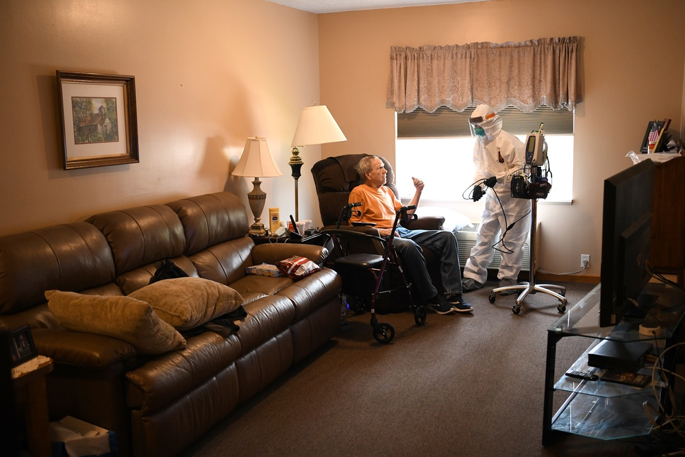 Ohio Guard team provides lifeline for assisted living facility overwhelmed by COVID-19