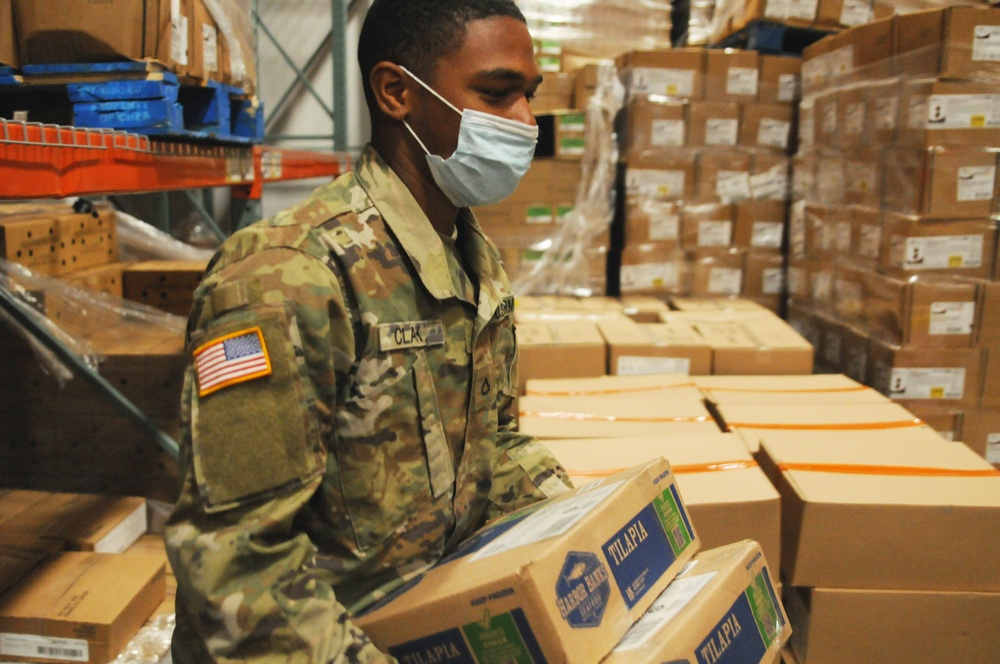 Ohio National Guard member reflects on time spent at food bank: Pfc. Clark