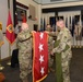 GEN. DALY UNFURLS FLAG FOR FIRST TIME