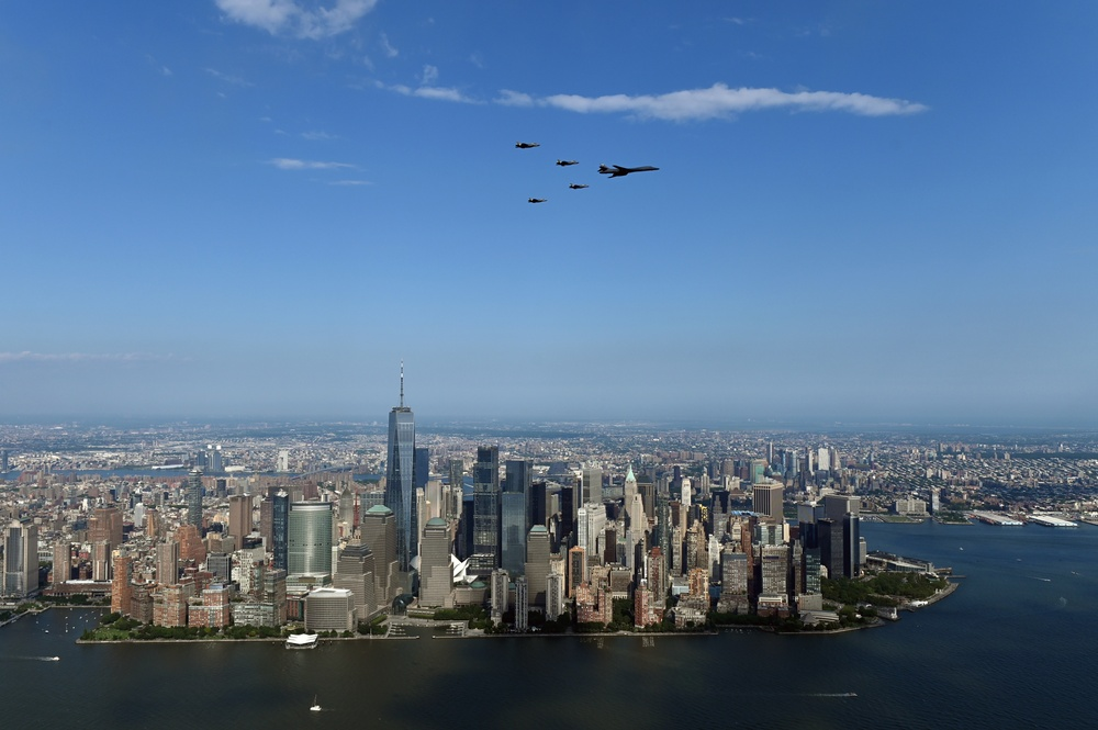 Salute to America Flyover of New York City