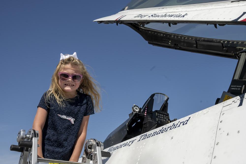 Thunderbird for a Day: Zoey Stachowiak