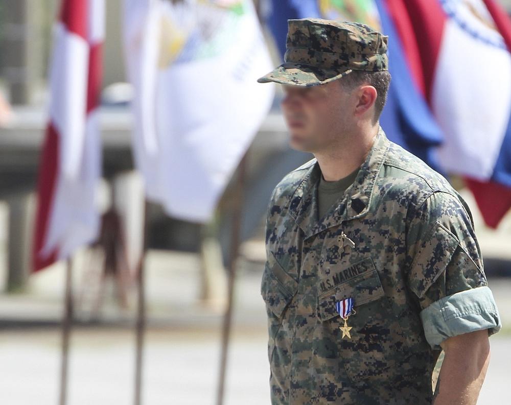 Marine Raider awarded for valor in Afghanistan