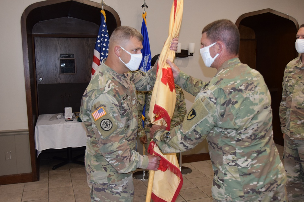 Allison takes command of USAG RIA at Change of Command Ceremony