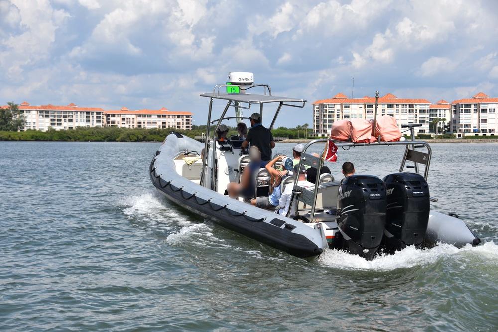Coast Guard halts illegal charter near Tampa Bay