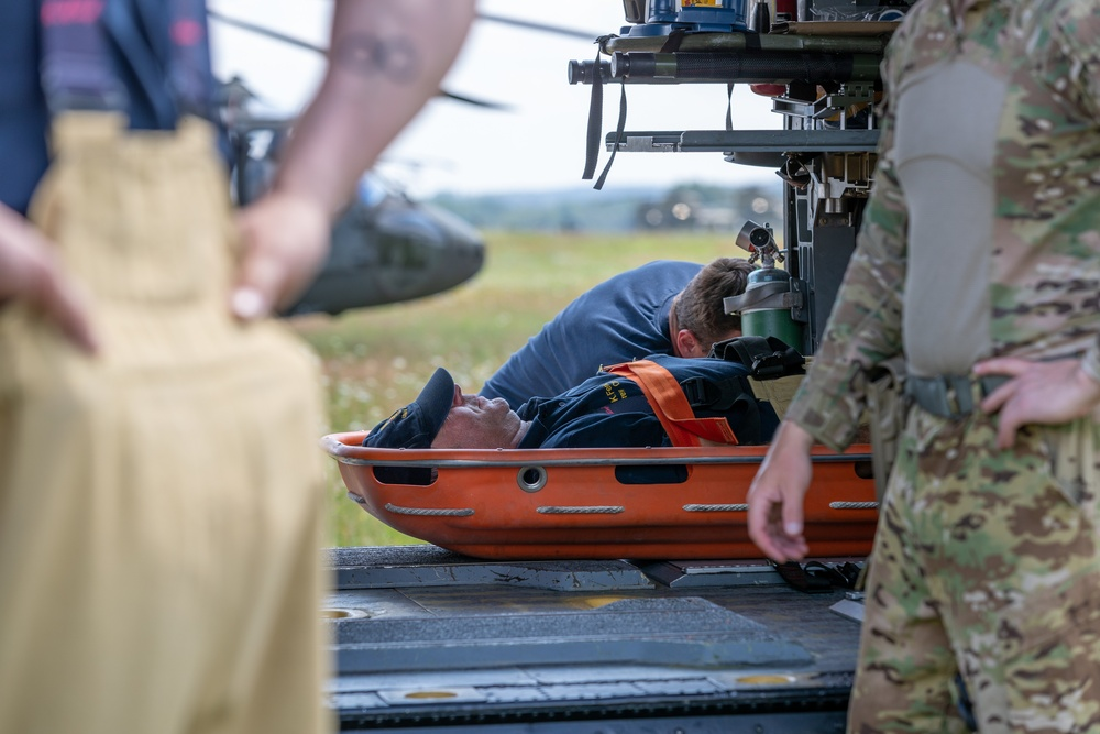12th Combat Aviation Brigade Conducts Aerial Gunnery