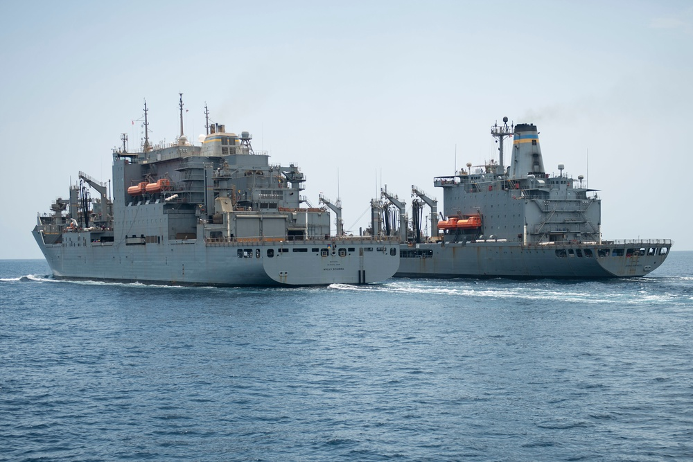Vella Gulf Conducts Operations in the Gulf of Oman