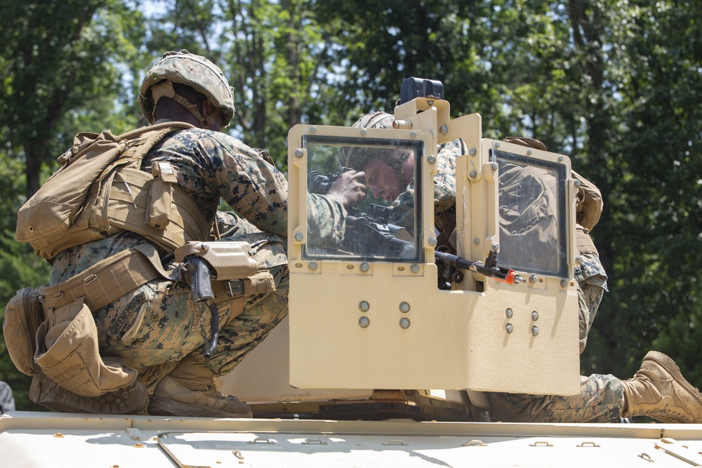 Marine Corps Security Forces Regiment, Charlie Company, 3rd Platoon, Conducts Mission Readiness Exercise