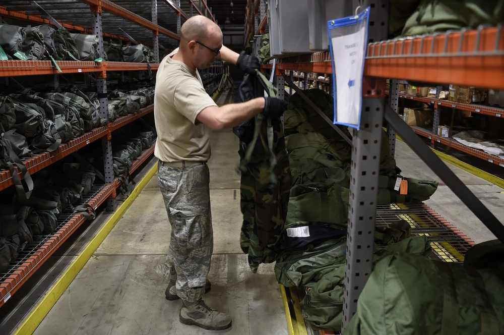 Logistics and Readiness Squadron Maintains Mission Superiority During Coronavirus Outbreak.