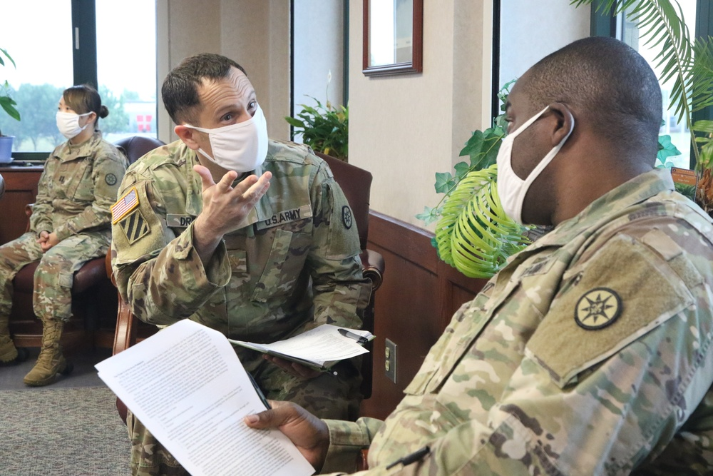 316th ESC Kicks off OPD with AUSA article review