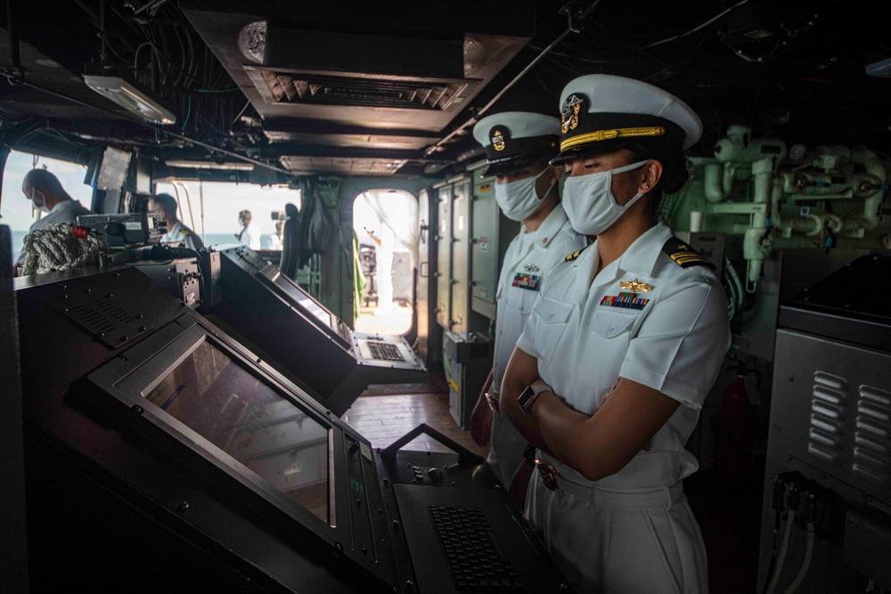 USS New York returns from Deployment