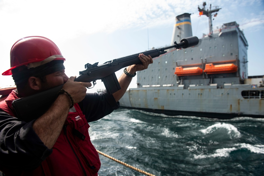 Vella Gulf Conducts Operations in the Gulf of Aden