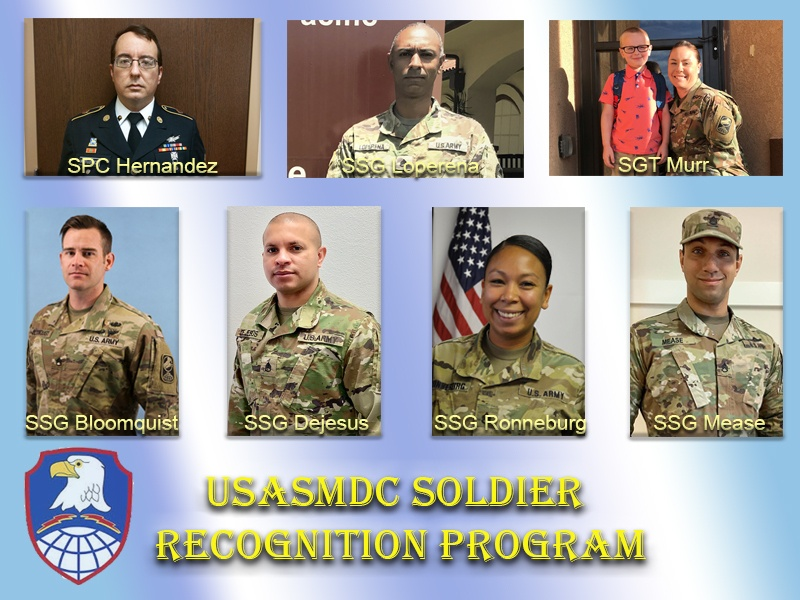 SMDC recognizes Soldiers contributions during pandemic