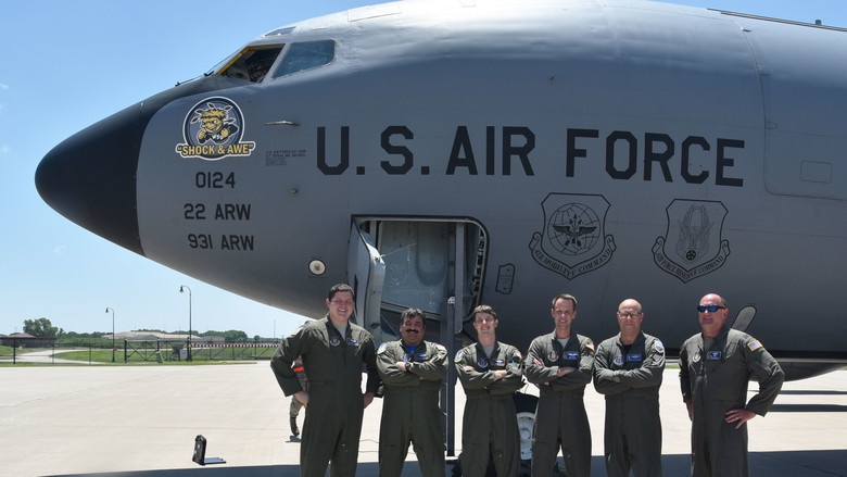 KC-135 performs last time during UTA