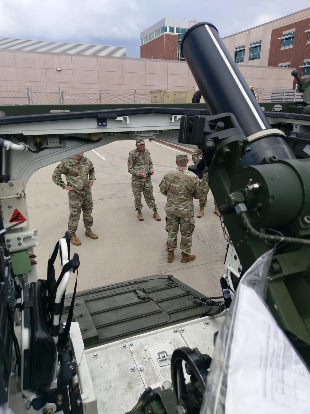 2SBCT Leaders Conduct Stryker Orientation Training