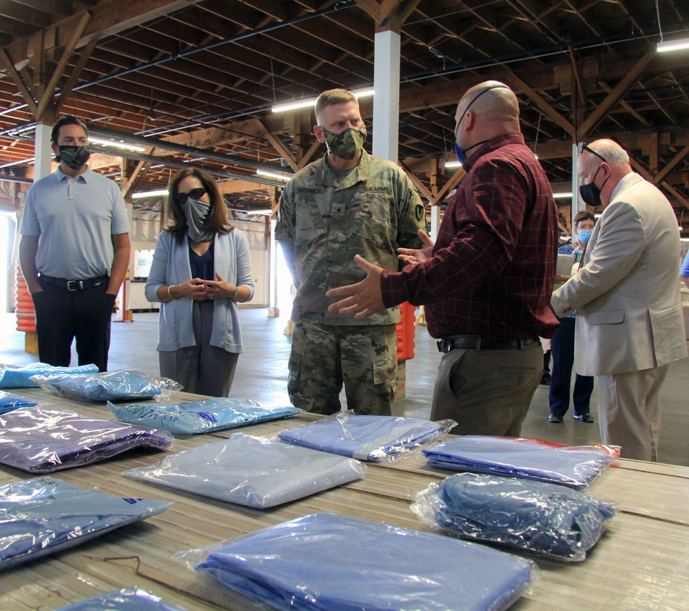 TACOM commander makes first visit to Sierra Army Depot