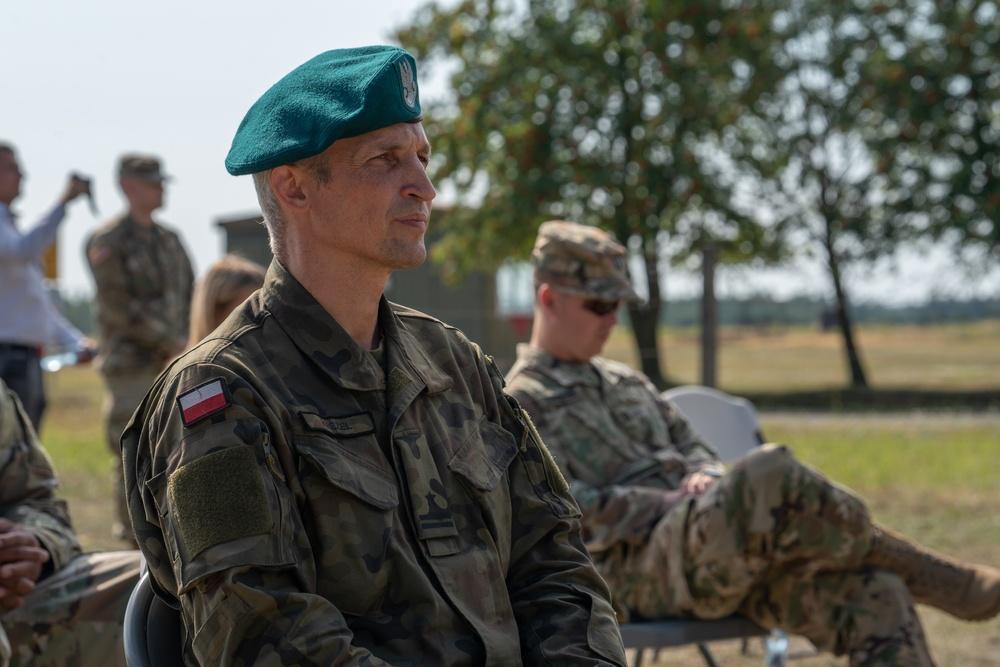 US Army engineers break ground, enhance Polish infrastructure