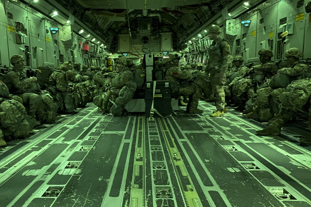 3rd BCT, 82nd Airborne Division Jumps into Exercise Panther Storm