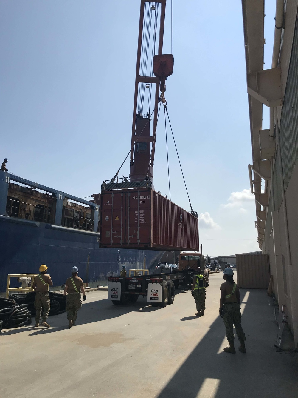 Navy Cargo Handlers Complete 68th edition of Operation Pacer Goose