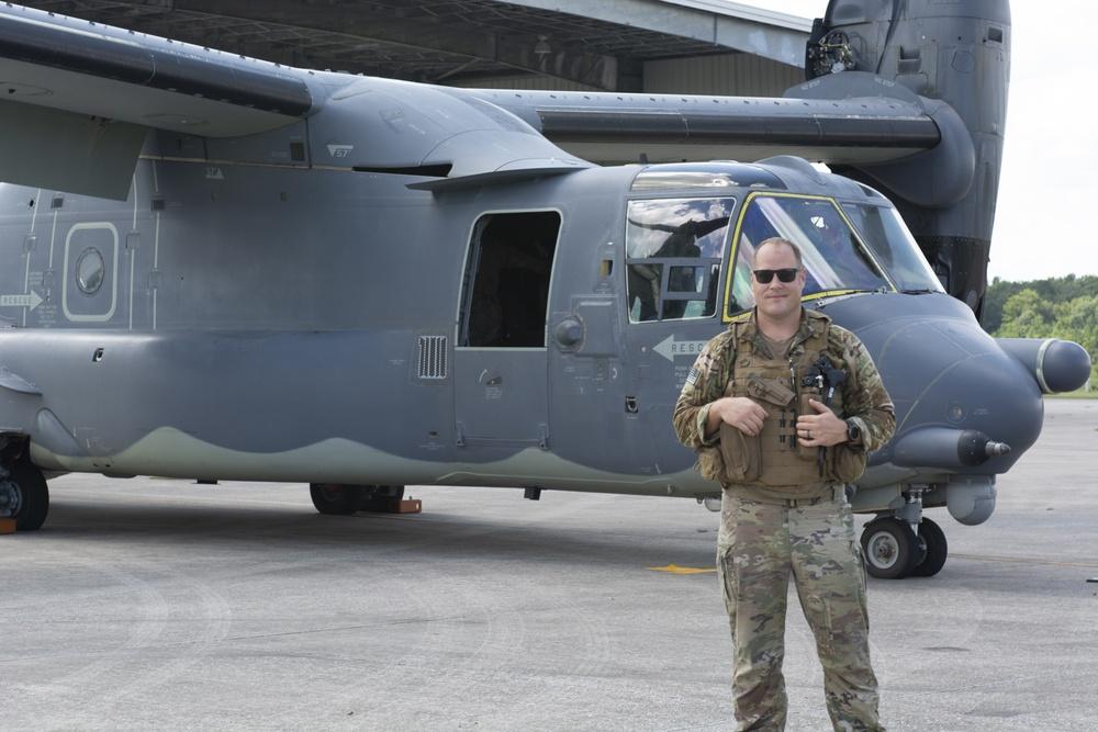 CV-22 Ospreys land at 125th Fighter Wing