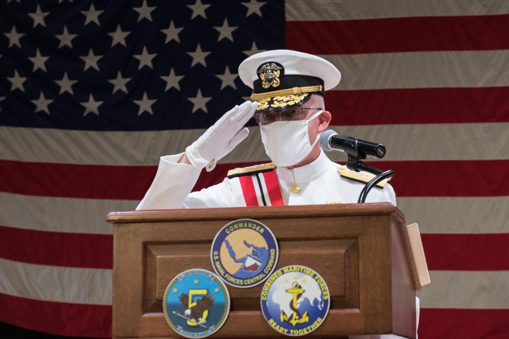 U.S. Fifth Fleet Welcomes New Commander
