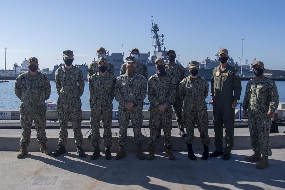 BHR Sailors MAPed to next paygrade