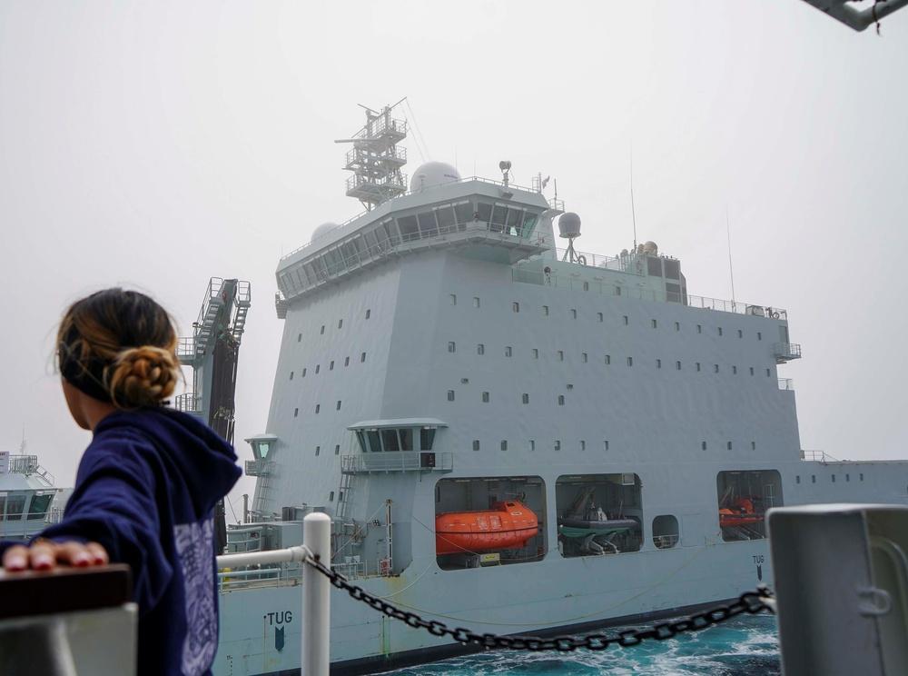 U.S. Coast Guard, Royal Canadian navy conduct at-sea drills in Atlantic