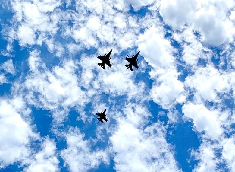 Spads Honor Fallen POW, F-16 Program Founder