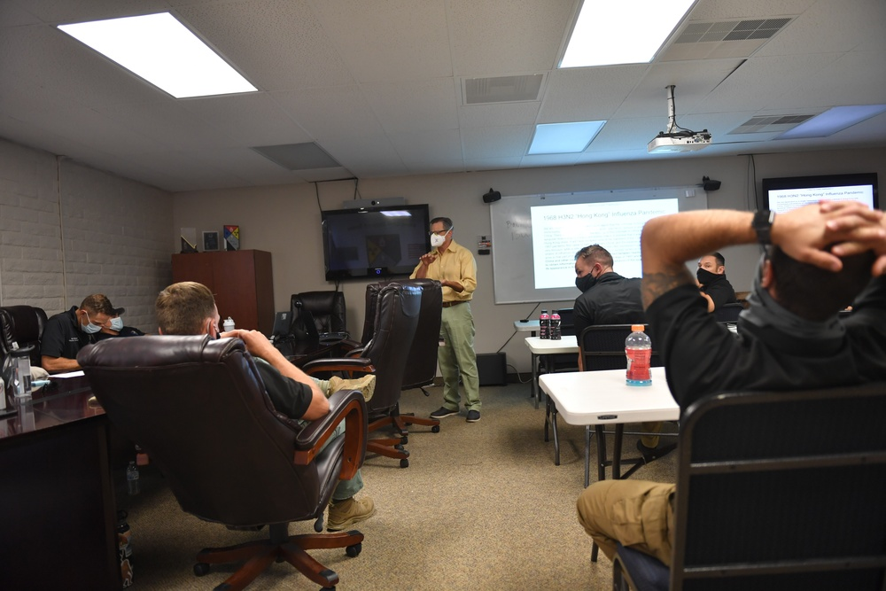 Infectious disease expert leads two-day course with Nevada CST